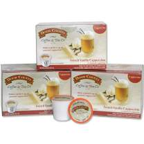 Door County Coffee, Single Serve Coffee Pods for Keurig Brewers, French Vanilla Cappuccino, 36 Count