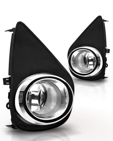 Fits 2015-2017 Chevy Colorado Fog Lights Driving Lamps Assembly Left//Right Set