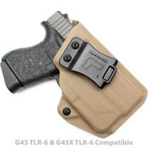 Tulster IWB Profile Holster in Right Hand fits: Glock 43/43X w/TLR-6