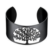 PROSTEEL Big Bangle,Cuff Bracelet,Tree of Life, Family Tree Jewelry,Wide Bangles,Mens Womens Jewelry