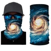 Multifunctional Headband Face Cover Seamless Rave Bandanas Neck Gaiter Balaclavas Headwrap Neckwarmer for Outdoors