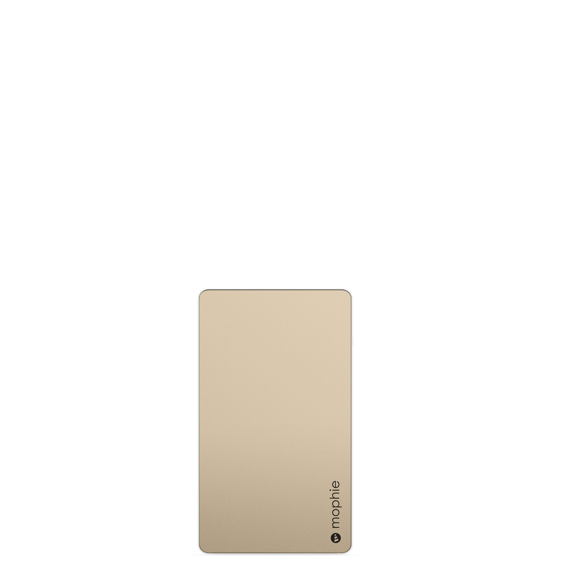 mophie PowerStation - Universal External Battery - Made for Smartphones and Tablets (6,000mAh) - Gold