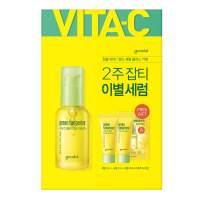 Goodal Green Tangerine Vitamin C Dark Spot Facial Serum+ for Sensitive Skin | Brightening, Dark Spot Treatment, Anti-Aging, Acne Scars, Fine Lines, Hyperpigmentation, and Dark Circles (1.0 fl oz)