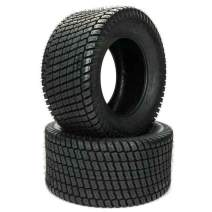 Set of (2) 16x6.50-8 4PR 4 Ply P332 Lawn Mower Tractor Golf Cart Turf Tires Tubeless
