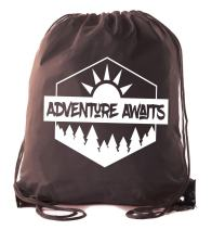 Mato & Hash Camping Drawstring backpack for Birthday parties and Summer Camp