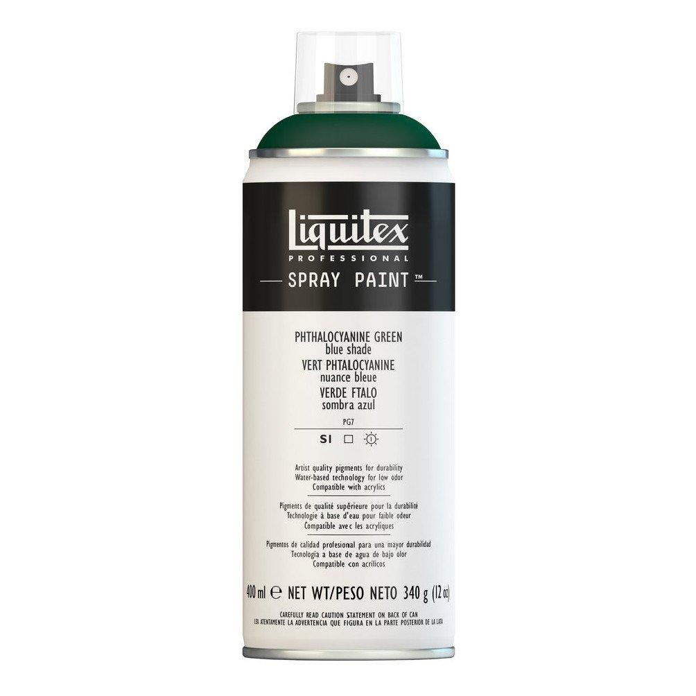 Liquitex Professional Spray Paint, Phthalocyanine Green (Blue Shade)