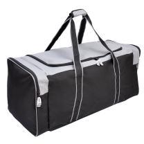 Jetstream 36 Inch 3-Pocket Hockey Equipment Duffle Bag (Grey)