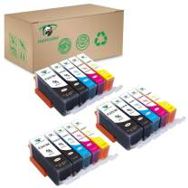 Supricolor 15 Pack PGI-225 CLI-226 Ink Cartridges High Yield Compatible with PIXMA iP4820 iP4920 iX6520 MG5120 MG5320 MG6120 MG6220 MG8120 MG8220 MX712 MX882 MX892 (Without Gray)