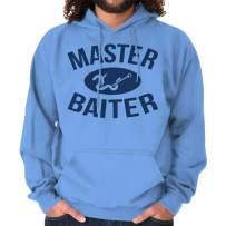 Brisco Brands Master Baiter Funny Angler Fisherman Gift Hoodie