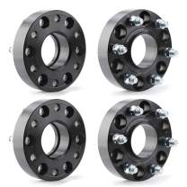 "KSP 6X5.5 Wheel Spacers for 2019+ Ram 1500,1.5""(38mm) Real Forged Spacers with 77.8mm Hub Bore M14x1.5 Studs fit for Ram 1500"