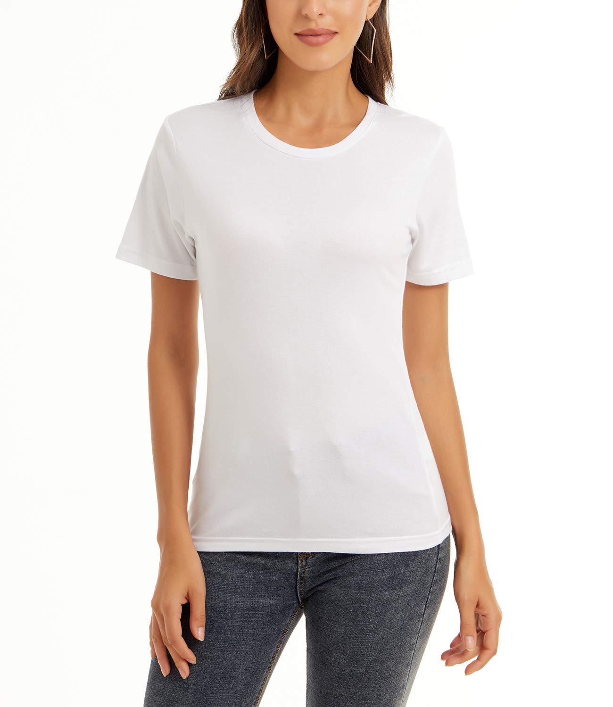 QUALFORT Women's Bamboo T-Shirt