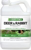 Liquid Fence Deer & Rabbit Repellent Concnetrate, 2.5-Gallon