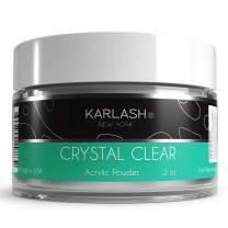 Karlash Professional Acrylic Powder Crystal Clear 2 oz