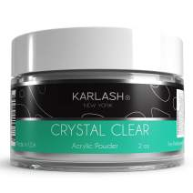 Karlash Professional Acrylic Powder Crystal Clear 2 oz