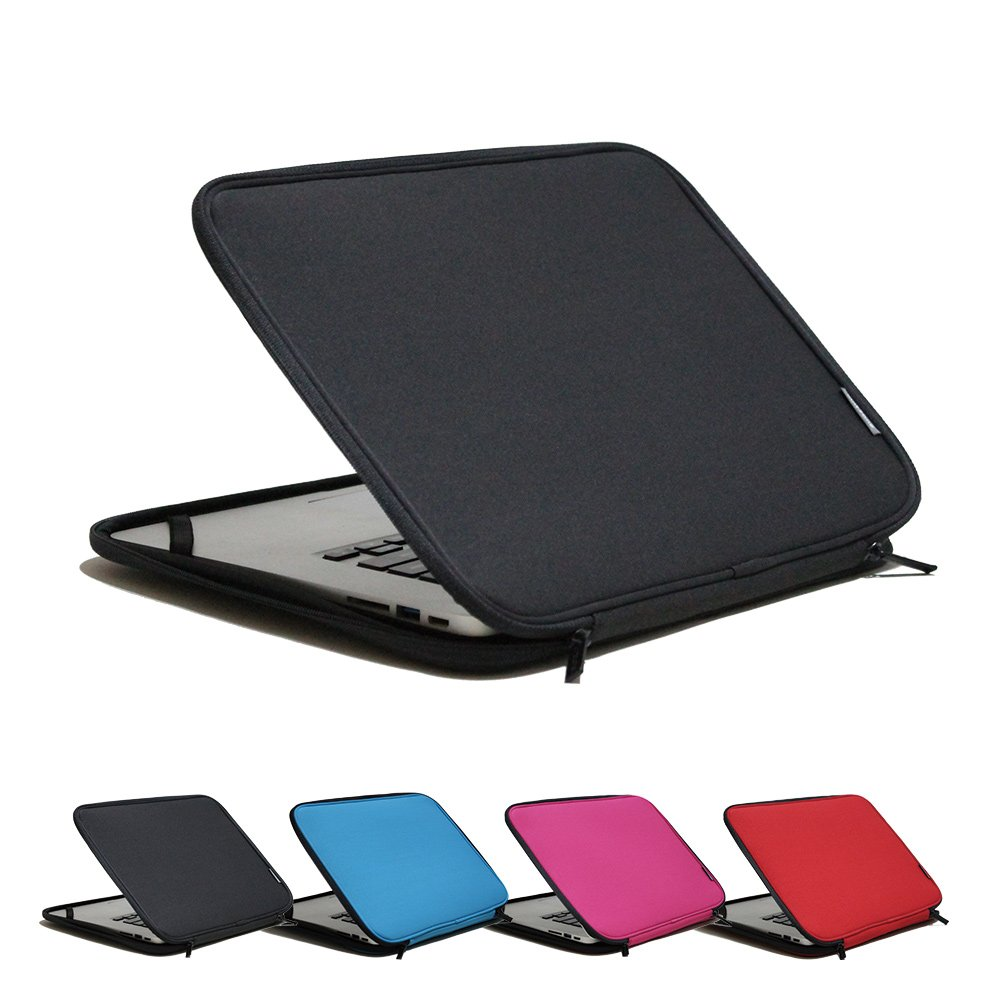 INNTZONE 13.3 Inch Stand-Type Laptop Sleeve case Bag Pouch Cover Notebook Carrying Case - Black