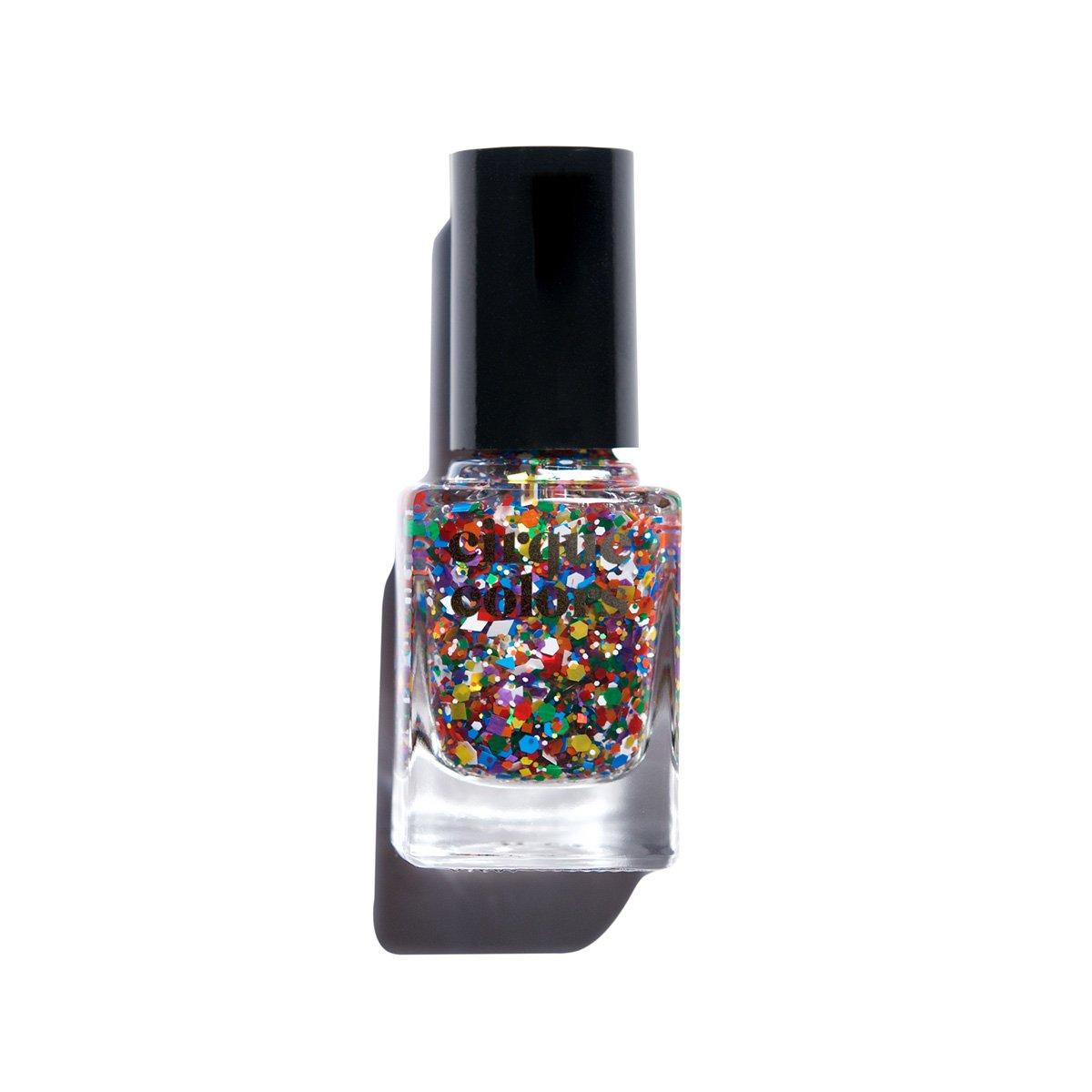 Cirque Colors Glitter Nail Polish - 0.37 fl. oz. (11 ml) - Vegan, Cruelty-Free, Non-Toxic Formula (Kaleidoscope)