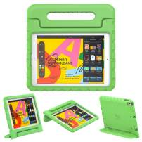 """Dadanism Kids Case Fit New iPad 10.2 2019 (7th Generation)/iPad Air 3/Pro 10.5"""" Tablet, Lightweight Shockproof EVA Kids-Friendly Protective Convertible Stand Cover with Handle - Green"""