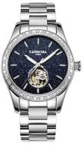 TEINTOP Carnival Women's Automatic Mechanical Watch with Blue Starry Sky