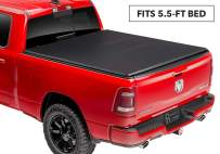 Rugged Liner E-Series Soft Folding Truck Bed Tonneau Cover, 5.5' Bed