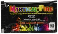 Mystical Fire Flame Colorant Vibrant Long-Lasting Pulsating Flame Color Changer for Indoor or Outdoor Use 0.882 oz. Packets 50-Count Box