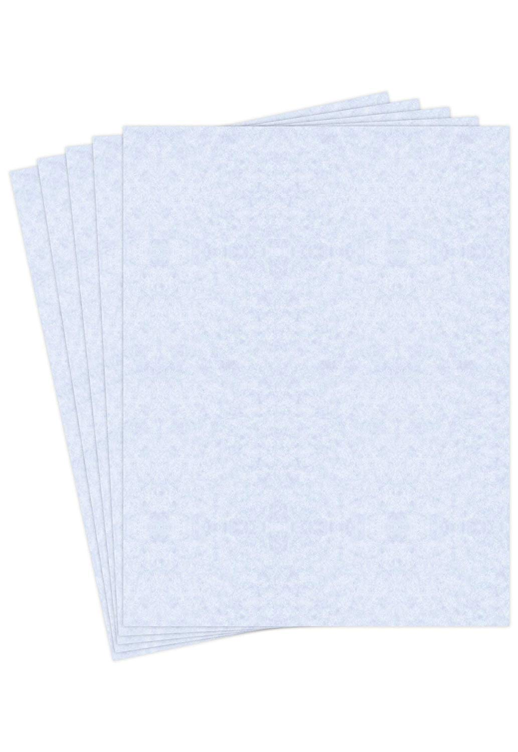 """Blue Stone Stationery Parchment Paper – Great for Writing, Certificates, Menus and Wedding Invitations   24Lb Bond Paper   8.5 x 11""""   50 Sheets/Pack"""