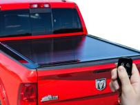 Gatortrax Electric Retractable (fits) 2007-2013 Chevy Silverado GMC Sierra 6.5 Wide Rails Foot Bed Only Power Gloss Truck Bed Tonneau Cover (G20432) Made in The USA