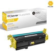 CS Compatible Toner Cartridge Replacement for HP M570dn CE402A Yellow HP Color Laserjet PRO 500 M570 M570DN M570DW M551DN M551N M551XH Color Flow M575C