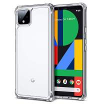 ESR Air Armor Clear Case for Pixel 4 Case, [Shock-Absorbing] [Scratch-Resistant] [Military Grade Protection] Hard PC + Flexible TPU Frame, for The The Google Pixel 4 (2019 Release), Clear