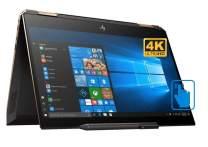 "HP Spectre x360-13t Home and Business Laptop (Intel i7-8565U 4-Core, 16GB RAM, 2TB PCIe SSD, 13.3"" Touch 4K UHD (3840x2160), Intel UHD 620, Active Pen, Fingerprint, WiFi, Bluetooth, Win 10 Pro)"