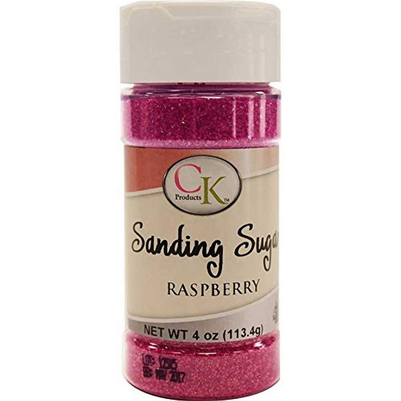 CK Products 78-50514 Cake Decorating Sanding Sugar Bottle, 4 oz, Raspberry