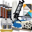 Concrete Foundation Crack Repair Kit - Low Viscosity Polyurethane - FLEXKIT-1050-30