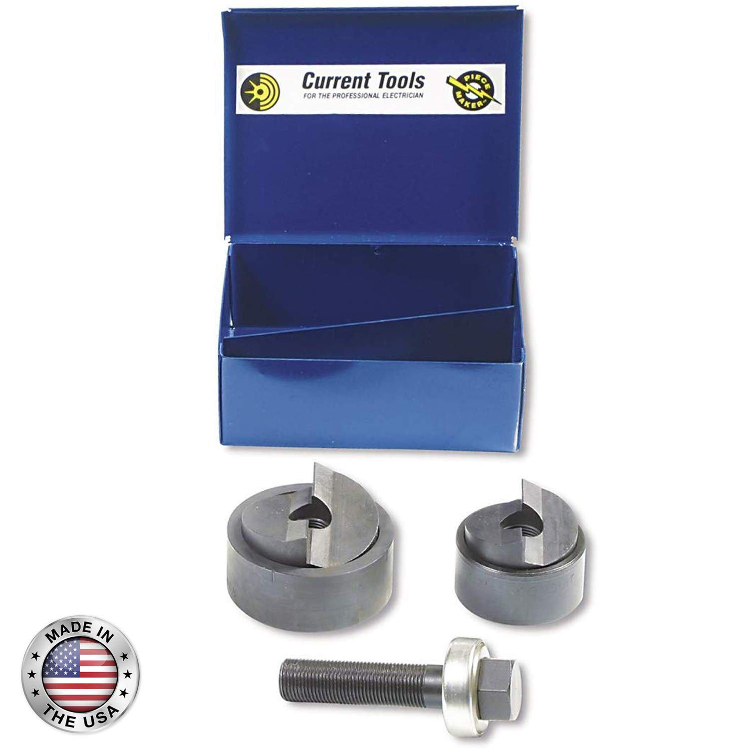 CURRENT TOOLS Manual Knockout Sets - Heavy Duty Holemaking Set with Piece Maker Punches & Dies - 159PM