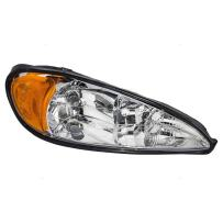 Aftermarket Replacement Passenger Headlight Compatible with 99-05 Grand Am 22672208