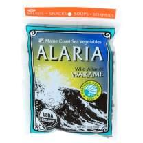 "Alaria ""Atlantic Wakame"" Whole Leaf   2 oz Bag   Organic Seaweed   Maine Coast Sea Vegetables"