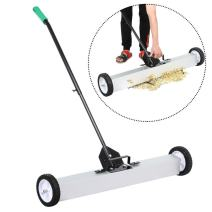 go2buy Heavy Duty Magnetic Sweeper with Release Handle and Wheels, 36 Inches