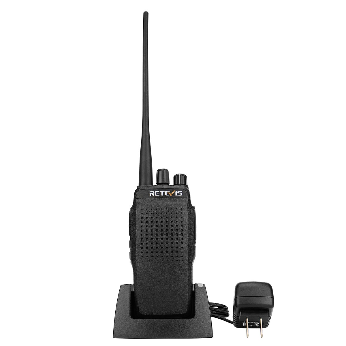 Retevis RT26 Two Way Radio High Power Long Range UHF 3000mAh High Power VOX Scan FM Walkie Talkies(1 Pack)