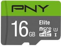 PNY 16GB Elite Class 10 U1 microSDHC Flash Memory Card (P-SDU16GU185GW-GE)
