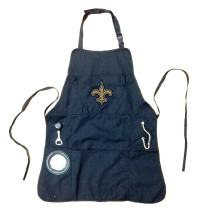 Team Sports America Ultimate NFL Tailgate Grilling Apron, New Orleans Saints