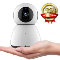 WiFi IP Camera,COOFO 1080P HD Wireless Security Camera Support Cloud Storage Baby Monitor Home Surveillance Camera with Motion Sounds Detection,2 Way Audio,Night Vision