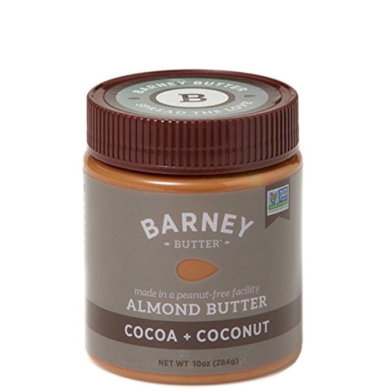 Barney Almond Butter, Cocoa + Coconut, Paleo Friendly, KETO, Non-GMO, Gluten-Free, Skin-Free, 10 Ounce (10858864004033)
