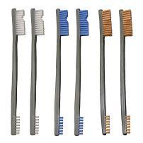 Otis Technology 3 Nylon/3 Bronze/3 Blue Nylon 9 Pack AP Brushes (IP-316-9-BBN)