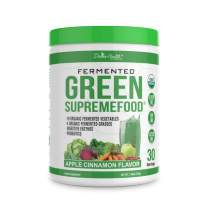 Fermented Green Supremefood® by Divine Health & Dr. Don Colbert MD - 30 Day Supply - Made in USA - USDA Organic - Includes Vegetables, Probiotics, Enzymes, Herbs & Fiber - Easy on Digestive Tract