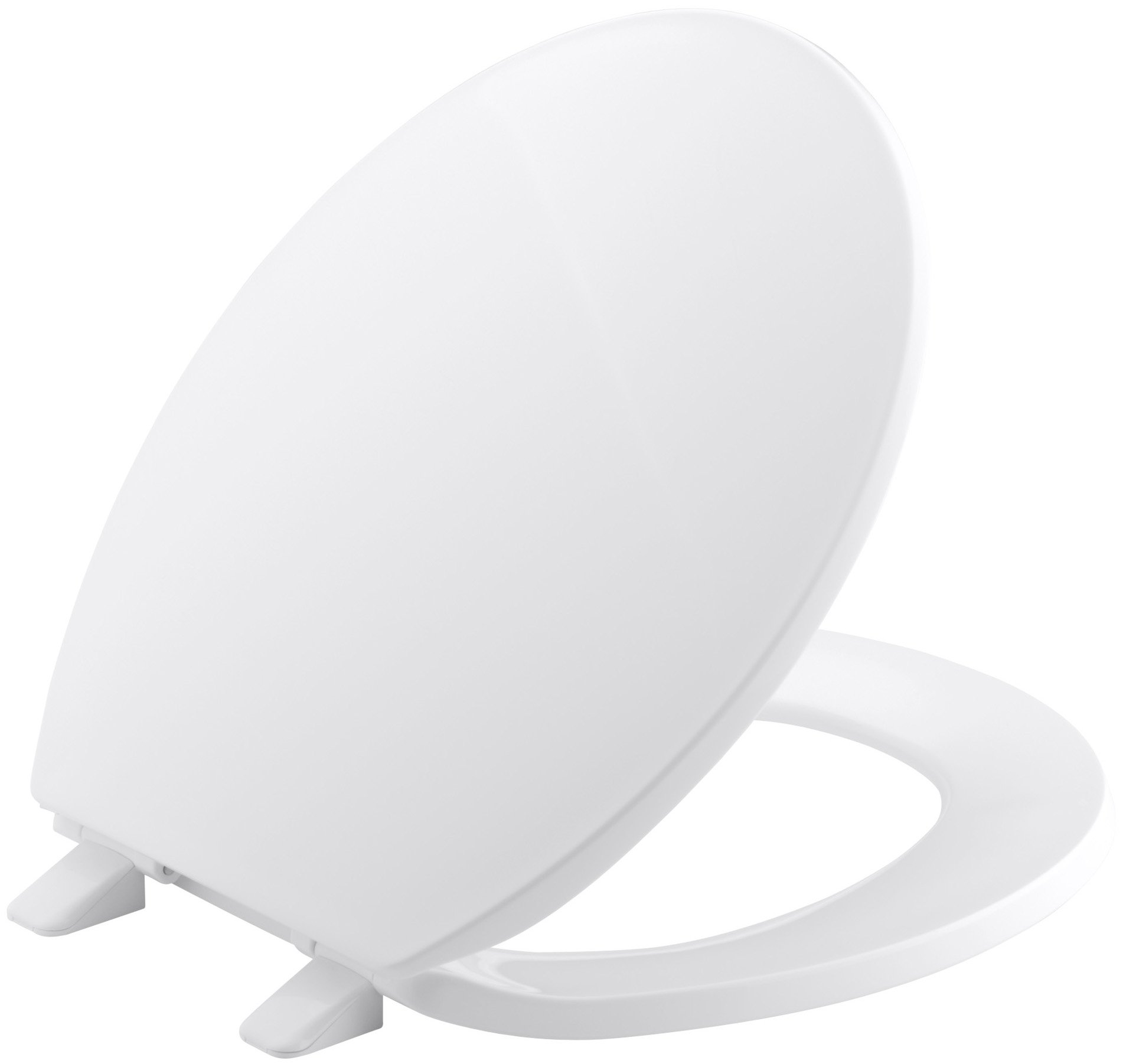 Kohler  K-4775-0 Brevia with Quick-Release Hinges Round-front Toilet Seat in White