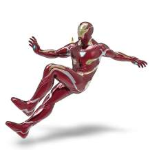 Hallmark Keepsake Christmas Ornament 2018 Year Dated, Marvel Avengers: Infinity War Iron Man With Light