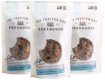 The Toasted Oat Bakehouse Gluten Free Blueberry Cobbler Soft Granola, 3 Count