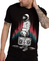 INTO THE AM Men's Graphic Tees - Novelty Graphic T Shirts with Cool Designs