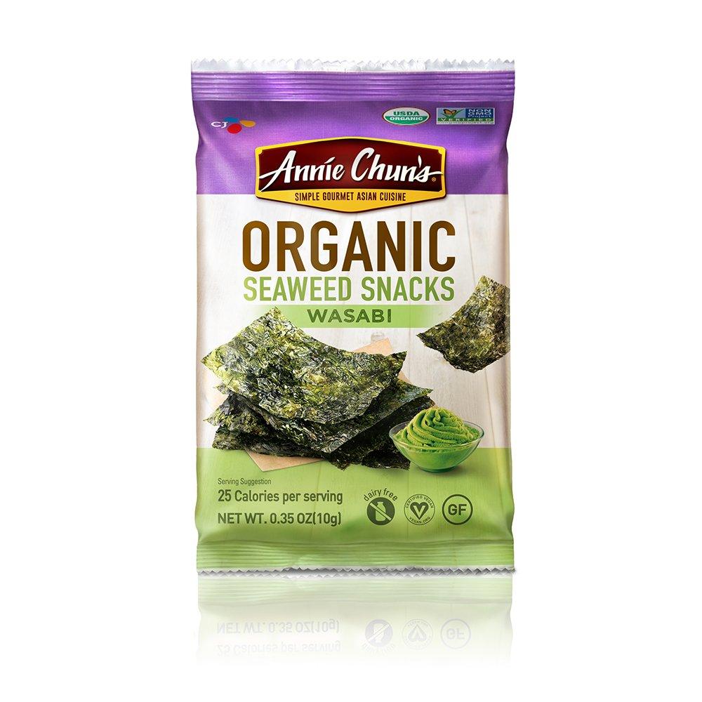 Annie Chun's Organic Wasabi Seaweed Snacks, 0.35 oz