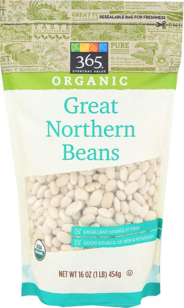 365 Everyday Value, Organic Great Northern Beans, 16 oz