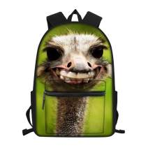 Funny Alpaca Backpack Fashion Novelty School Bookbags Casual Travel Daypack for Teen/Kids/Boys/Girls