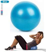 Pilates Ball Mini Exercise Barre Ball, Gymnic Over Ball, Pilates Soft Ball for Core Training and Physical Therapy, Improves Balance (Home & Gym & Office) Mini Yoga Ball, Small, 9 Inches